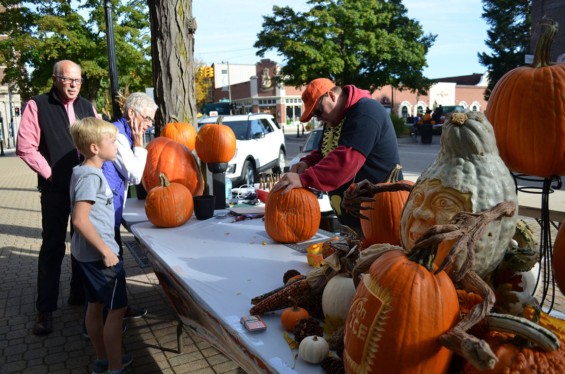 Fall Fest in Holland, Michigan