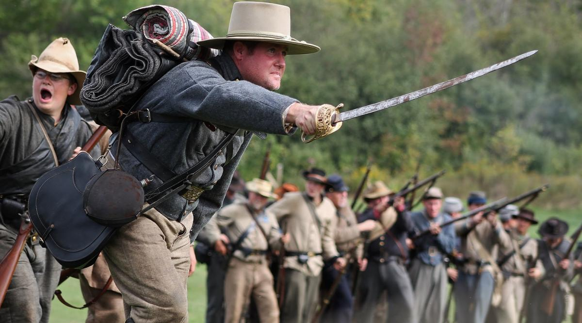 Civil War Muster & Heritage Days – Civil War Reenactment in Holland, Michigan