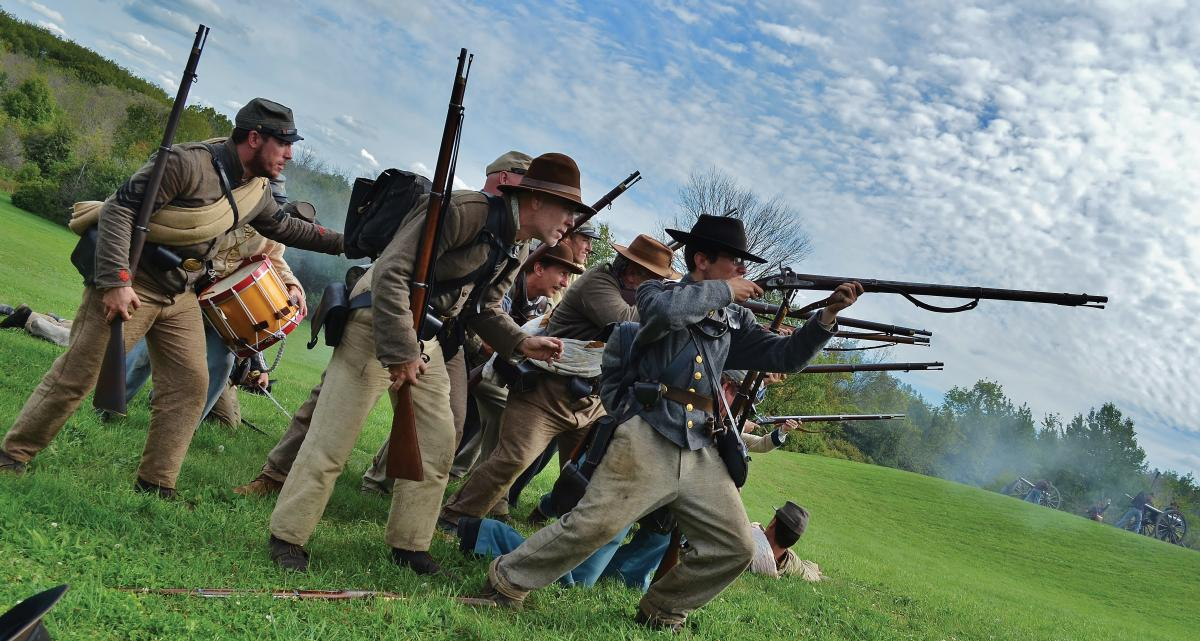 Civil War Muster – Fall in Holland, Michigan