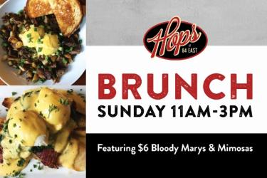Sunday Brunch at Hops!