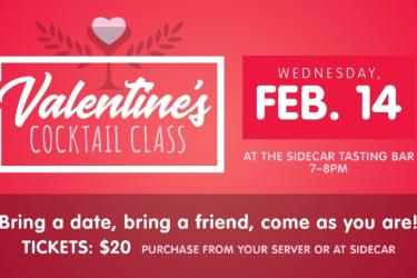 Valentine's Day Cocktail Class