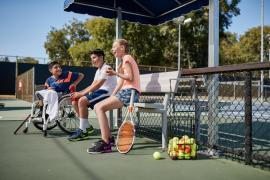 Free Beginner Wheelchair Tennis Event