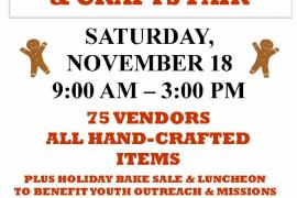 Holiday Arts & Crafts Fair