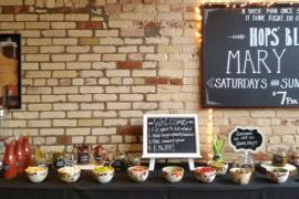 Hops' Bloody Mary Bar