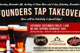 Massive Founders Tap Takeover at Hops!