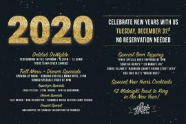 New Year's Eve at Hops!