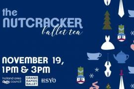 Nutcracker Ballet Tea, 3pm Performance