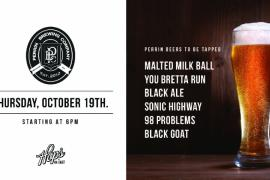 Perrin Brewing Tap Event