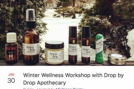 Winter Wellness Workshop with Drop by Drop Apothecary