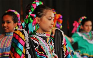Dancers at Fiesta in Holland, MI