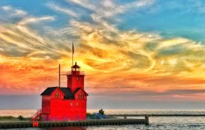 Summer sunset photo contest | big red