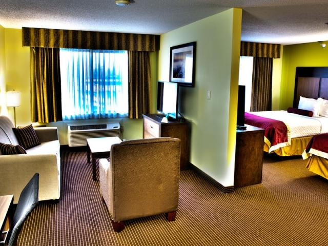 2 bed queen suite Best Western