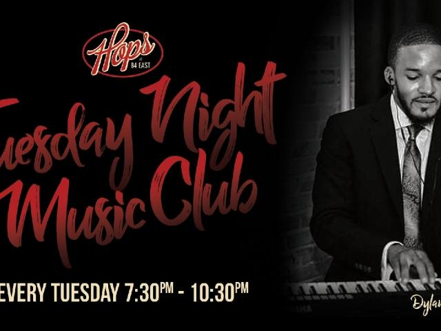 Tuesday Night Music Club with Dylan Tolbert!