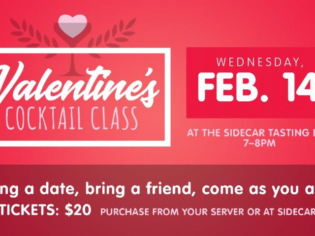Valentine\'s Day Cocktail Class | Holland.org