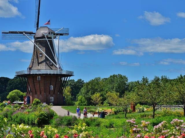 Rooms: Windmill Island Gardens